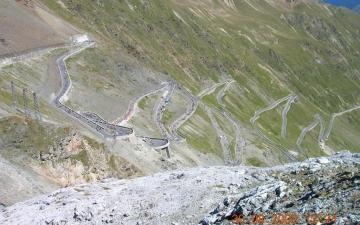Radtour Stilfser Joch