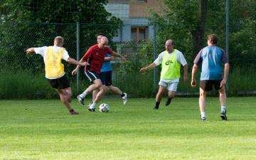 Fußballspiel Ampass